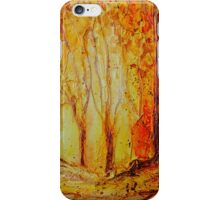 Autumn Woods iPhone case iPhone Case/Skin