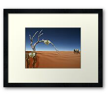 TIme goes by so slowly.......... Framed Print