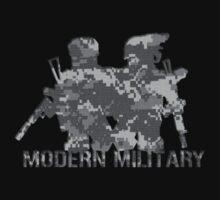 Modern Military digital camo 2 Kids Tee