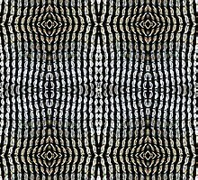 Can tabs / pull-rings woven together - 2 by Lee Jones
