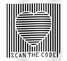 scan the love code Poster