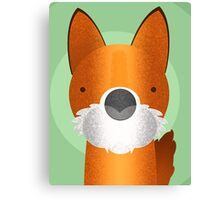 Peekaboo Fox Canvas Print