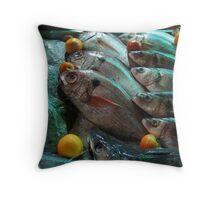 Fish eyes ... Throw Pillow