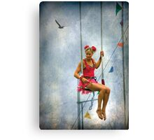 The Showgirl # 2  Canvas Print