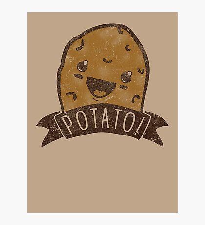 POTATO!!! Photographic Print