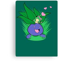 An Oddish Romance Canvas Print