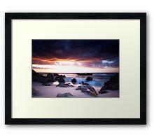 Bird Island, Trigg, Western Australia Framed Print
