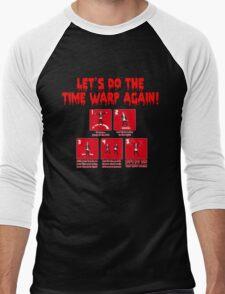 Rocky Horror - Let's Do The Time Warp Again Men's Baseball ¾ T-Shirt