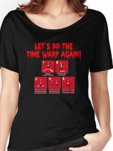 Rocky Horror - Let's Do The Time Warp Again Women's Relaxed Fit T-Shirt