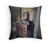 Alison Homestead Fire Throw Pillow