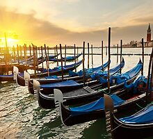 Venice Boats by magaretpow