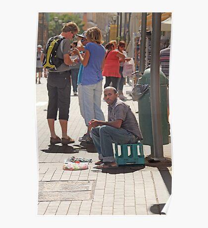 Street Vendor  Poster