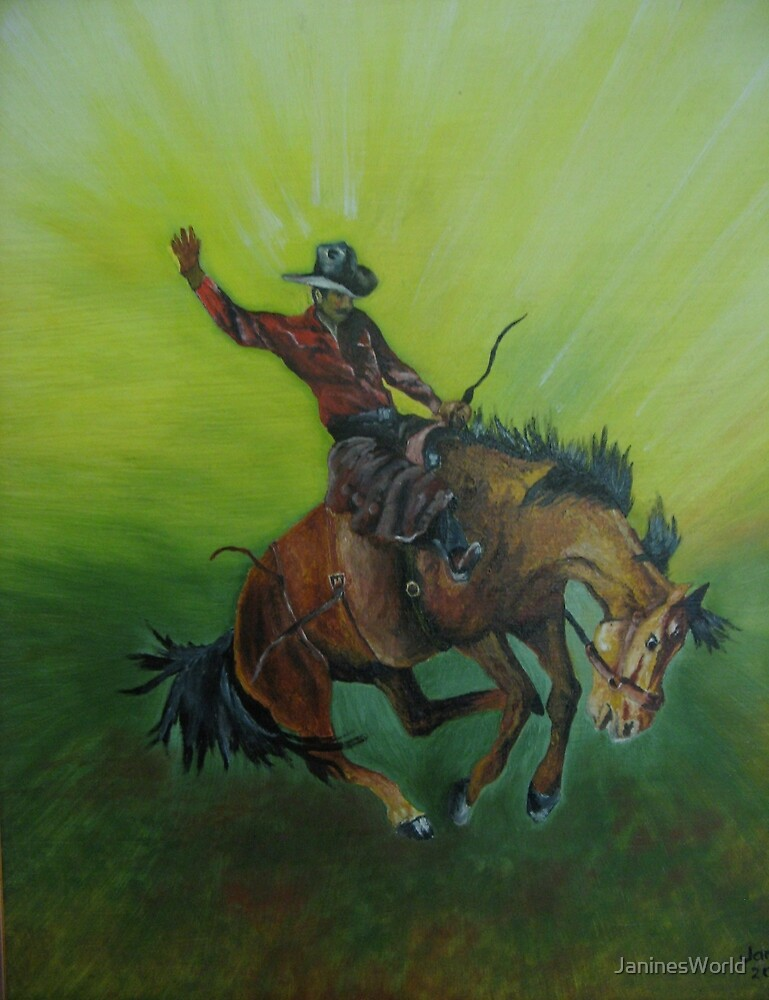 Bucking Bronco by JaninesWorld