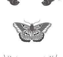 Harry Styles Tattoos by lizswezey