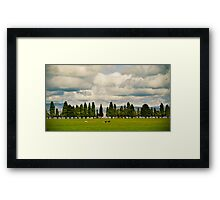 Little Trees Big Skies Framed Print