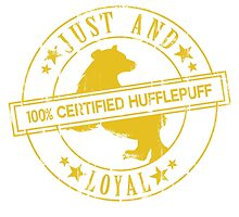 Hogwarts Certified - Hufflepuff by whitebalanced