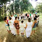 Circle Ceremony by Wari Om  Yoga Photography