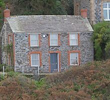 Doc Martins House, Port Isaac by Keith Larby