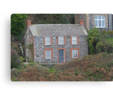 Doc Martins House, Port Isaac Canvas Print