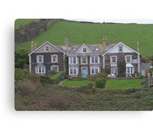 B & B in Port Isaac Canvas Print