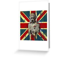 Old Dead Queen Greeting Card