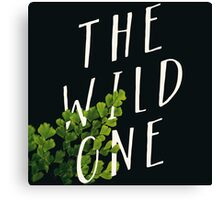 The Wild One Canvas Print