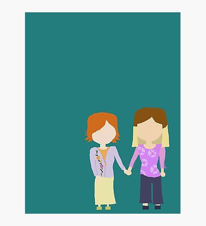 You're My Always - Willow & Tara Stylized Print Photographic Print