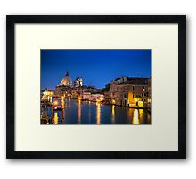 Venice Boats Framed Print
