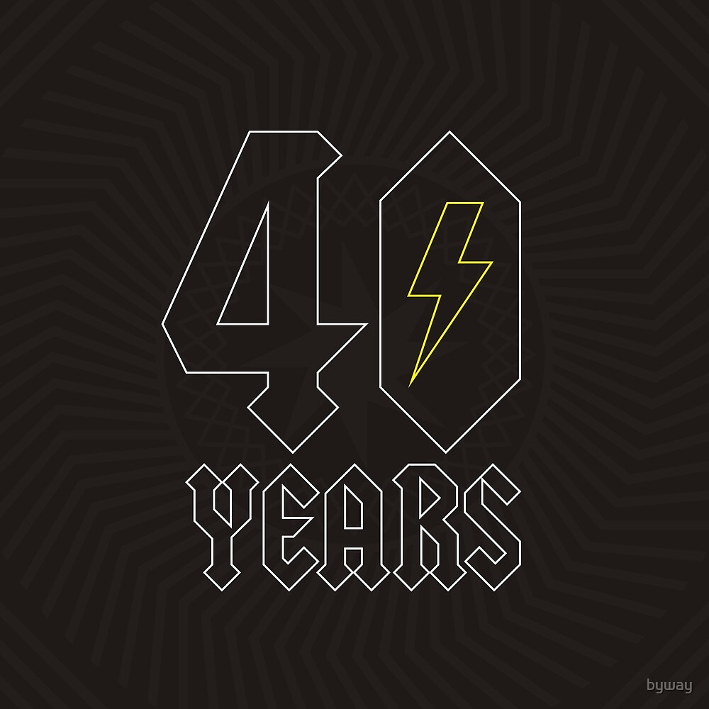 40 Years of Rock by byway