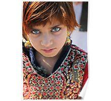 Refugee girl Poster