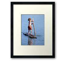 Useless Beach Adventurer Framed Print