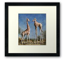 Emmm...Welcome to the herd. Framed Print