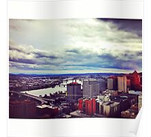 Portland, Oregon Skyline Poster