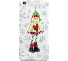 Hang on there... Christmas is coming! iPhone Case/Skin