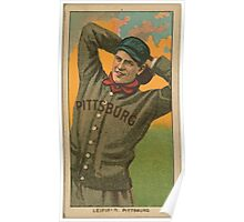 Benjamin K Edwards Collection Lefty Leifield Pittsburgh Pirates baseball card portrait 001 Poster