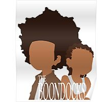 Minimalistic Huey/Riley (The Boondocks) Poster