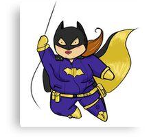 Chubby Batgirl Canvas Print