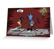 Sidewalker Greeting Card