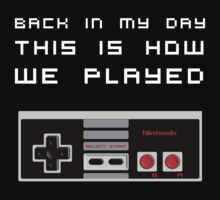 Back In My Day - NES Controller by diddykong13