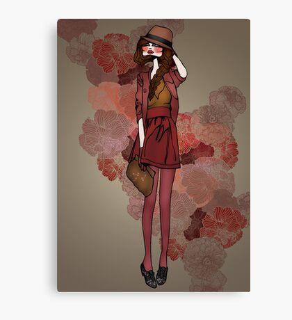 Jolie Rouge Canvas Print
