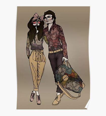 Dollhouse Couple Poster