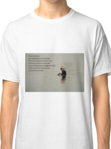 man in water Classic T-Shirt
