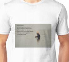 man in water Unisex T-Shirt