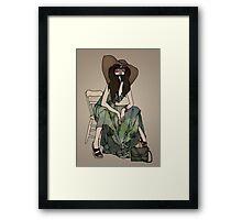 Gisele Framed Print