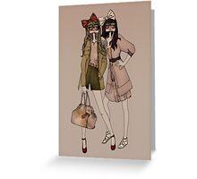 Lola & MIlu Greeting Card