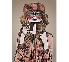 Hippie Chic Photographic Print