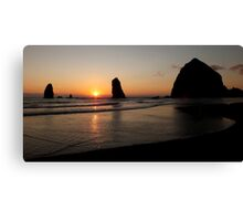 Panoramic Beach ~ Part Two Canvas Print