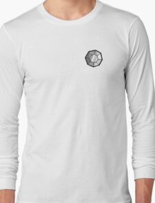 Boulder Badge (Pokemon Gym Badge) Long Sleeve T-Shirt