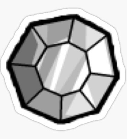 Boulder Badge (Pokemon Gym Badge) Sticker