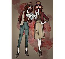 Women at work Photographic Print